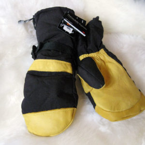 Men's Deerskin Musher Mitten NAF-63T