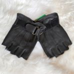 Fingerless Riding Gloves with Anti-Vibration Palm Pad NG-530NF