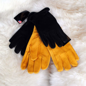 Ladies Lined Deerskin Gloves NAF- G14T/BK