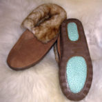Ladies Sheepskin Booties WW-NO9B-75-L