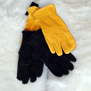 Mens Unlined Deerskin Gloves