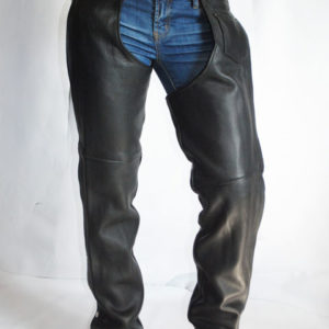 Ladies Basic Leather Chaps
