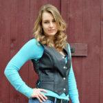 Ladies braided vest