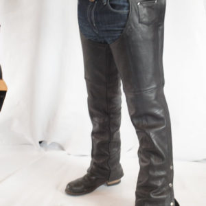 Basic Mens Leather Chaps