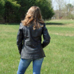 Long Ladies Leather Jacket
