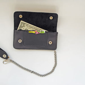 "USA made, 8"" Chain Wallet"