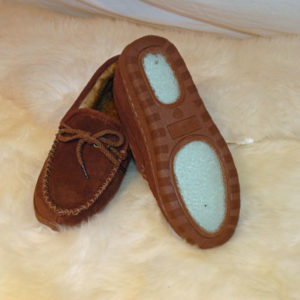 water and salt stain resistan moccasins